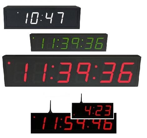 Ntp digital wall clock